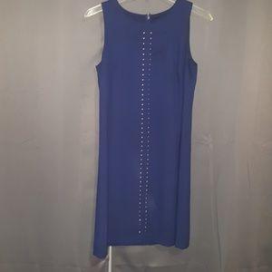 Chetta B blue embellished dress  SZ 4
